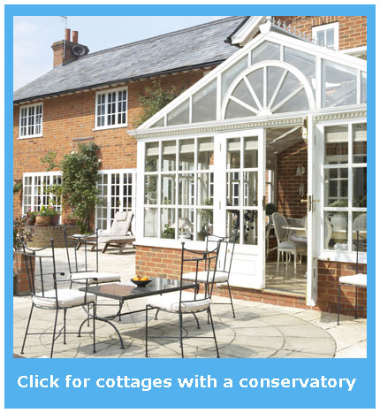 cottages with a conservatory