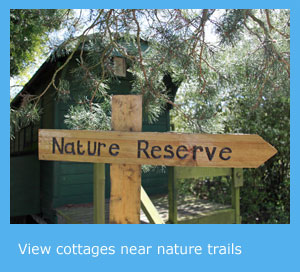 holiday cottages near nature trails