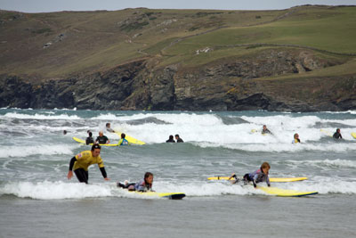 rent a cottage with surfing nearby in Cornwall
