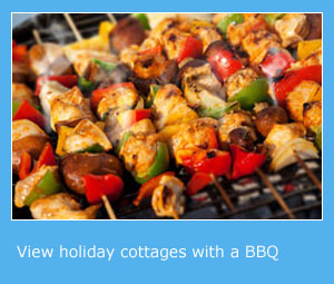 holiday cottages with a barbecue