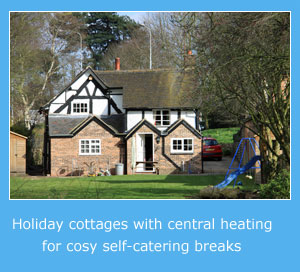 holiday cottages with central heating in east anglia