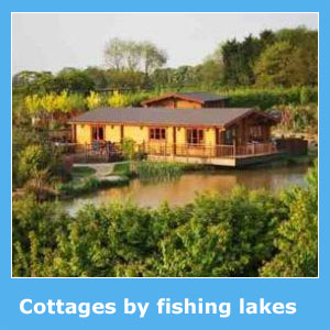 cottages with fishing lakes nearby