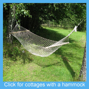 holiday cottage hammock