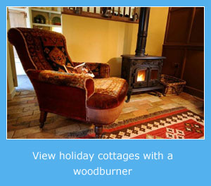 holiday cottages with a wood burner