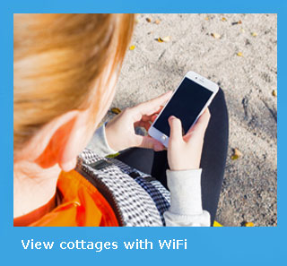holiday cottages with Interent