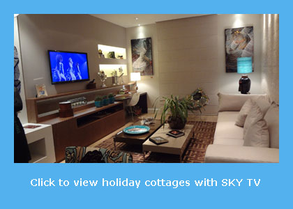 cottages with SKY TV