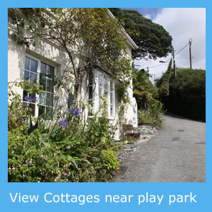 cottages with a children's play park