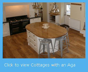 cottages with an Aga cooker